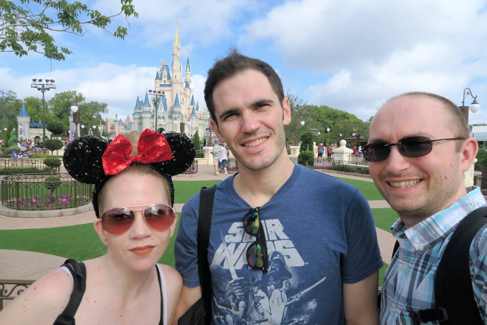 Disney with friends