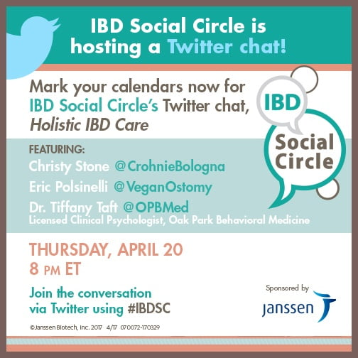 IBD Social Circle Image for Sharing Holistic IBD Care 3.30.17