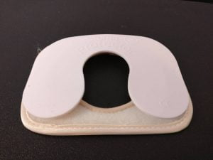 StomaProtector keyhole plate