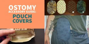 Ostomy pouch covers header small