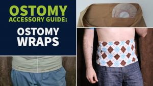 Ostomy wraps guide header small