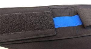 Hybrid stealth belt velcro fastener