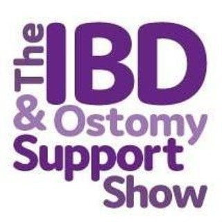 IBD and Ostomy support show logo