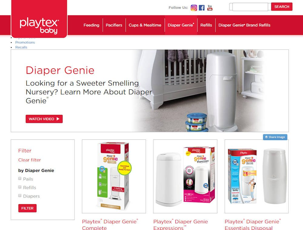 Diaper Genie for ostomy disposal