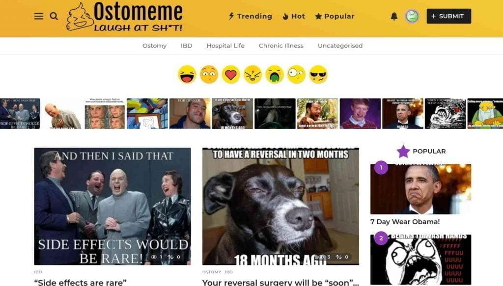 Ostomeme homepage