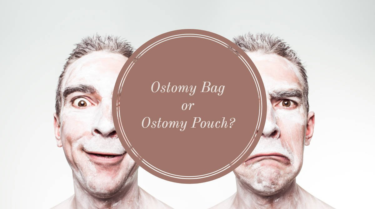Ostomy bag or ostomy pouch header small