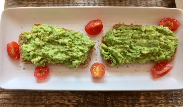 Sophie Toast and avocado