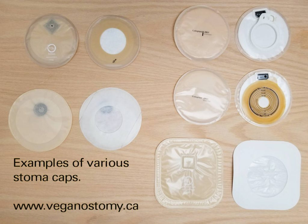 Stoma cap collection