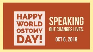 World Ostomy Day 2018 speaking out changes lives