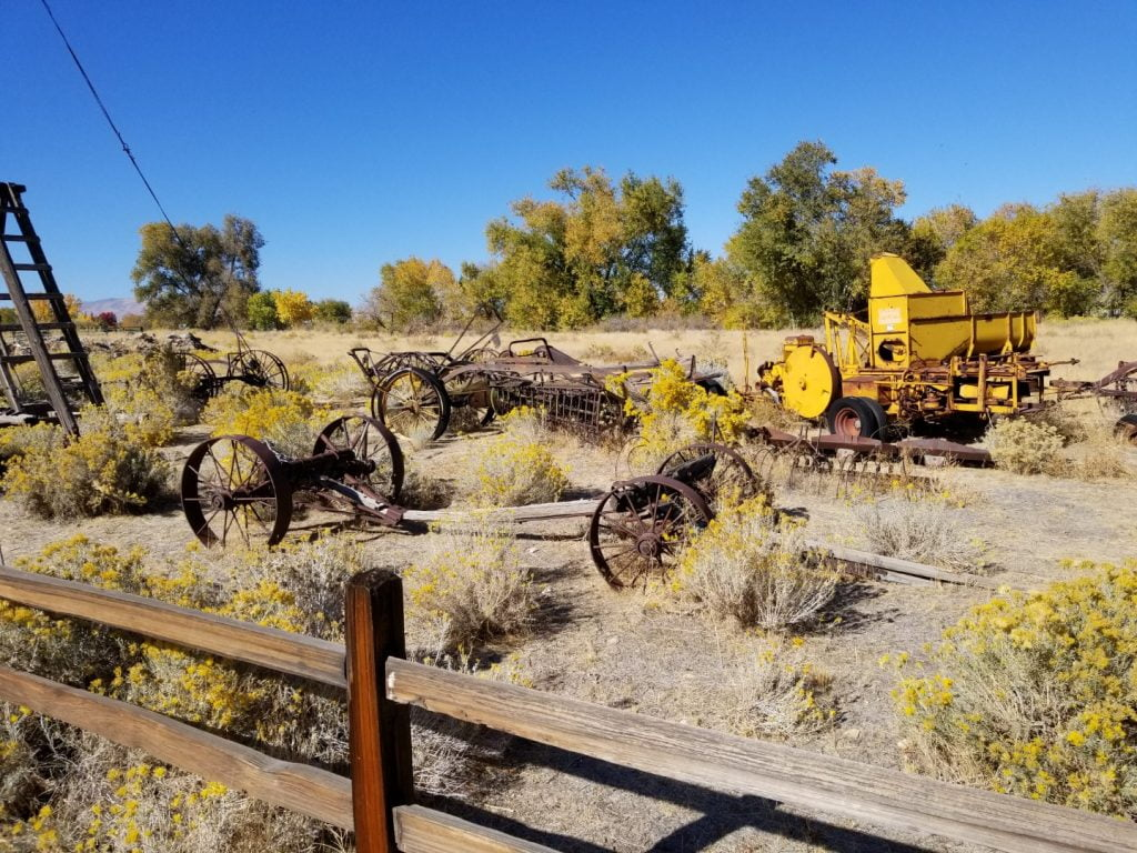 Barley Ranch farming equipment 1