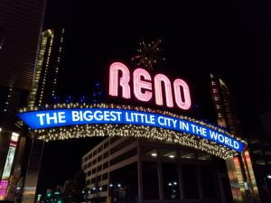 Biggest Little City sign