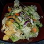 Large tofu salad