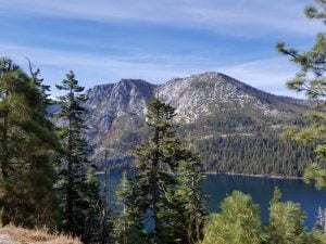 Mountain overlooking Emerald Bay