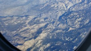 Mountains from the sky