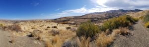 Panorama at the Tom Cooke Trails