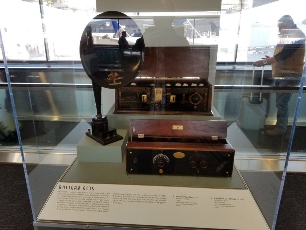 Radio display at San Francisco airport 3
