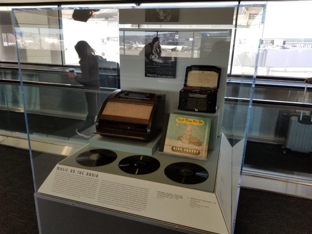 Radio display at San Francisco airport 6