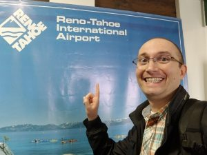 Selfie at Reno_Tahoe Airport