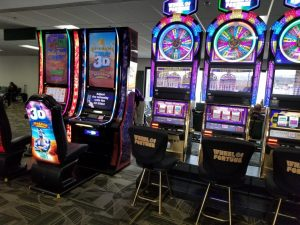 Slots in the Reno Airport