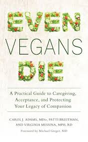Even Vegans Die book cover