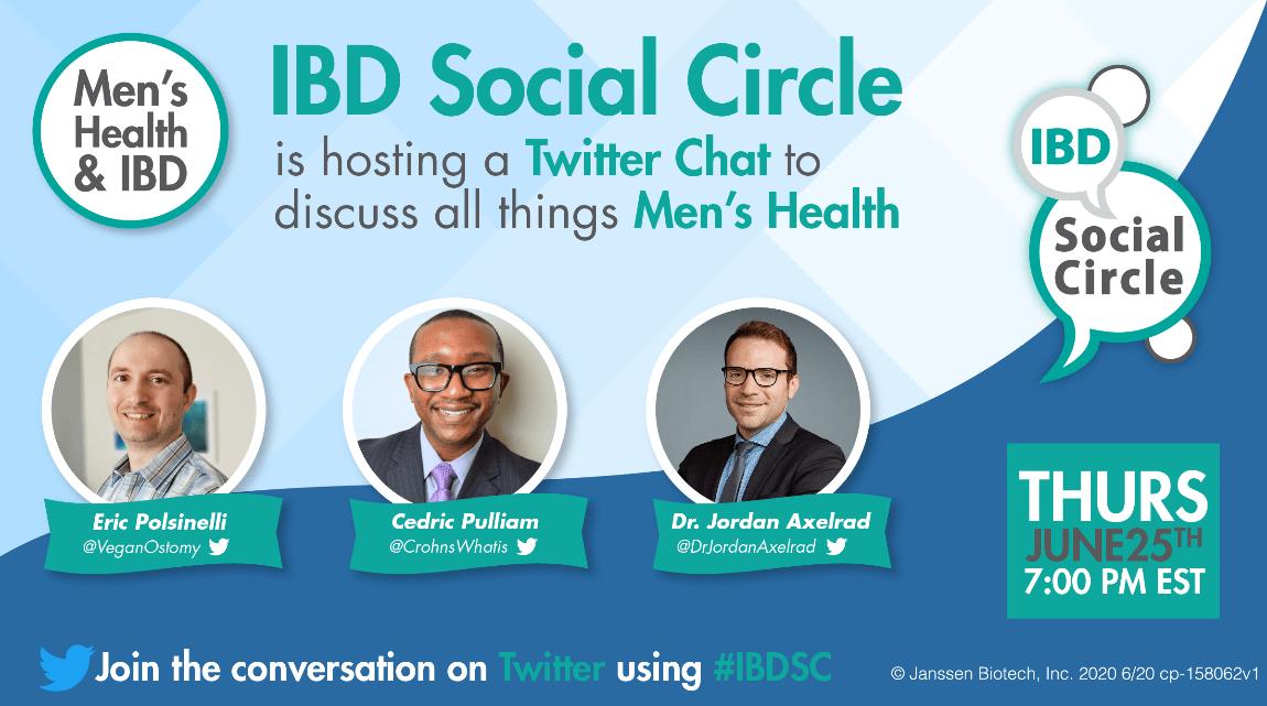IBDSC Men's health Twitter Chat June 2020